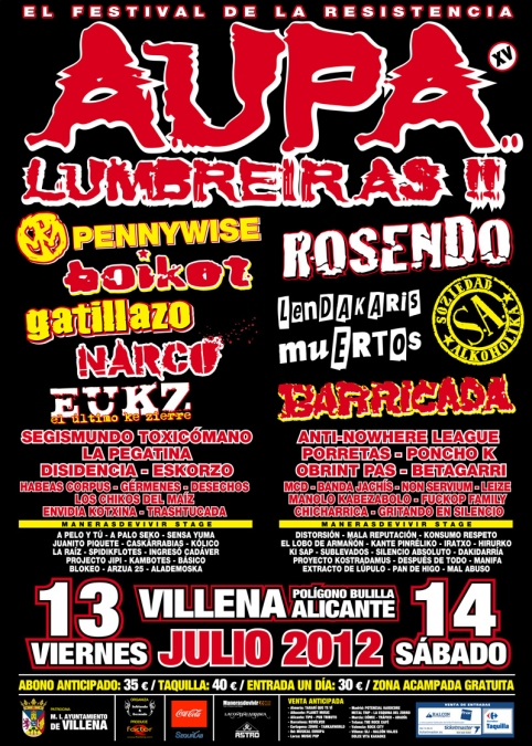 #Adrenalina TOUR 2012